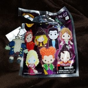 Hocus pocus headless Billy keychain